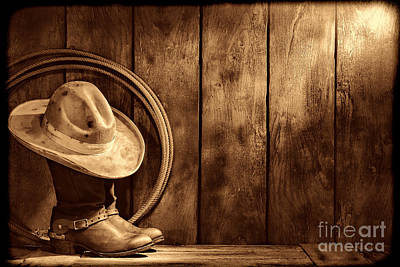 Photograph - The Dirty Hat by American West Legend By Olivier Le Queinec