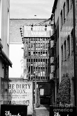 Yardbirds Photograph - The Dirty Onion Pub And Yardbird Restaurant In Cathedral Quarter Belfast Housed In Belfasts Oldest B by Joe Fox