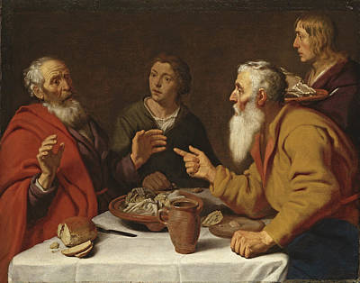 Disobedient Painting - The Disobedient Prophet by Lambert Jacobsz