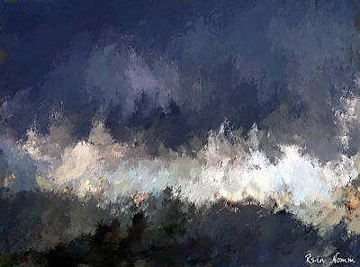 Digital Art - The Distant Light by Rein Nomm