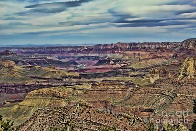 Photograph - The Distant River by Steven Parker