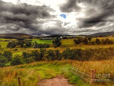 Photograph - The Distillery At Glenlivet by Joan-Violet Stretch