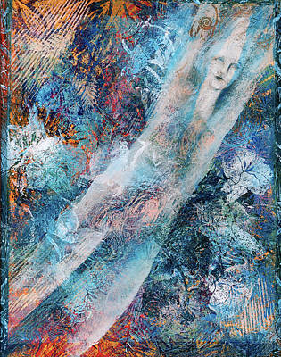 The Diver Art Print by Sue Reed