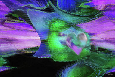 Abstract Religious Art Digital Art - The Divine Presence by Linda Sannuti