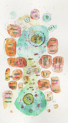 Ink Mixed Media - The Division 3 by Mark M  Mellon