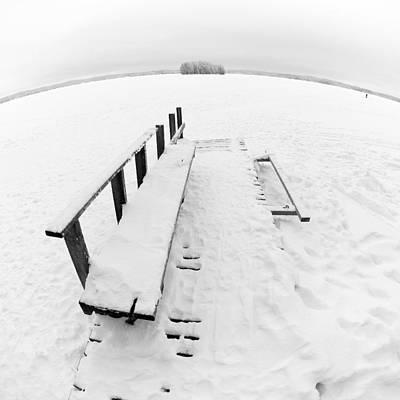 Jouko Lehto Royalty Free Images - The Dock 1 Royalty-Free Image by Jouko Lehto