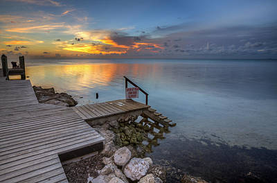 Photograph - The Dock by Al Hurley