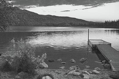 Photograph - The Dock by Joe Burns