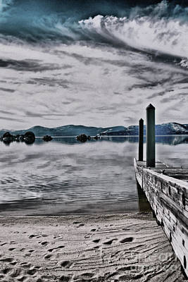 Photograph - The Dock by Nancy Chambers
