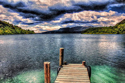 Photograph - The Dock by Pennie  McCracken