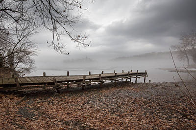 Photograph - The Dock by Sara Hudock