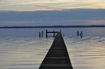 The Dock Print by Tiffney Heaning