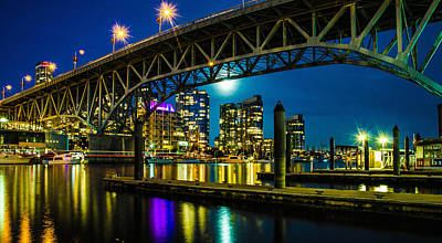 Vancouver Photograph - The Docks by Trevor Buchan