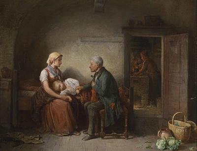 The Doctor  Art Print by Friedrich Friedlander