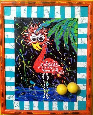 Dodo Bird Painting - The Dodo Bird by Doralynn Lowe