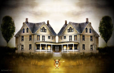 The Dog House Art Print by Kari Nanstad