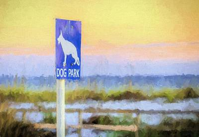 Photograph - The Dog Park On Pensacola Beach by JC Findley