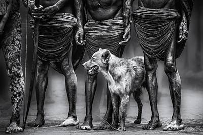 Tribe Photograph - The Dog by Pavol Stranak