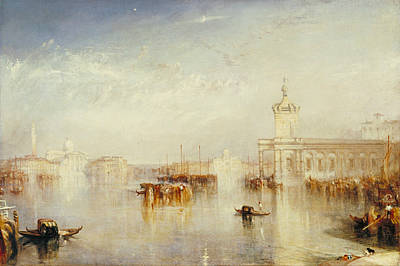 Painting - The Dogano, San Giorgio, Citella, From The Steps Of The Europa by Joseph Mallord William Turner