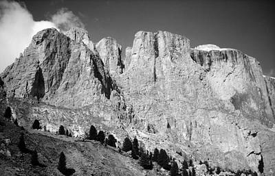 Photograph - The Dolomites by Juergen Weiss