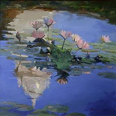 The Dome - Water Lilies Original