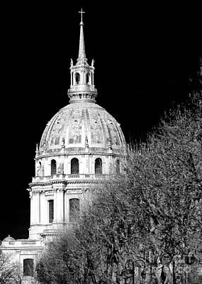 Hotel Des Invalides Photograph - The Dome Church by John Rizzuto