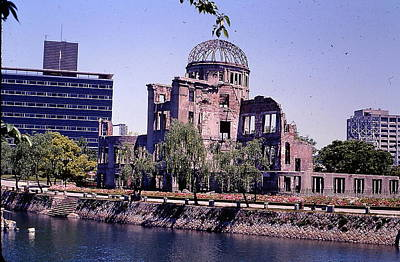 Photograph - The Dome In Hiroshima by Robert Margetts