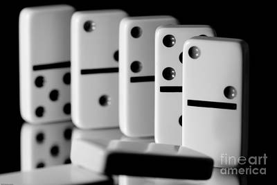 The Domino Effect Art Print by Charles Dobbs