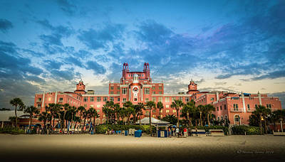 The Don Cesar Art Print by Marvin Spates