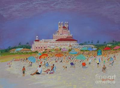 Pastel - The Don Cesar,st.pete's Beach by Rae  Smith PAC