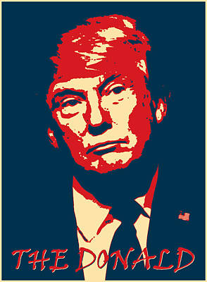 The Donald Art Print by Richard Reeve