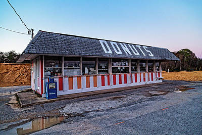 Photograph - The Donut Shop No Longer 2, Niceville, Florida by Kay Brewer