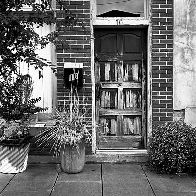Photograph - The Door Decor by Patrick M Lynch