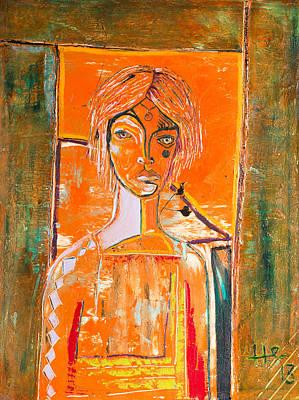 Painting - The Door by Hans Magden