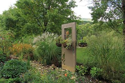Photograph - The Door In The Park by Karen Ruhl