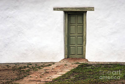 Photograph - The Door by Inge Riis McDonald