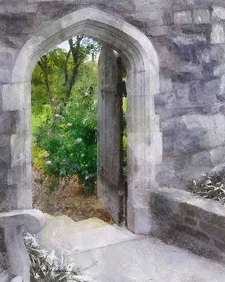 Digital Art - The Door Into Summer by Francesa Miller