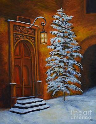 Painting - The Door by Jana Baker
