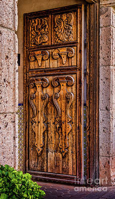 Photograph - The Door by Jon Burch Photography