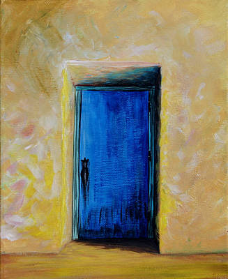 Painting - The Door by Mandy Elliott