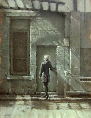 Poetic Painting - The Door by Nicolas Martin