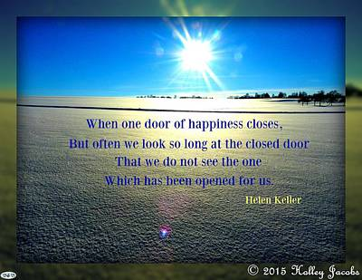 Photograph - The Door Of Happiness by Holley Jacobs