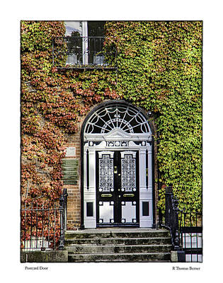 Art Print featuring the photograph The Door by R Thomas Berner