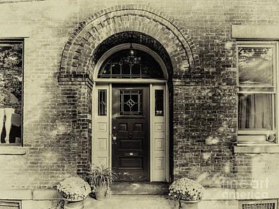 Photograph - The Door by William Norton