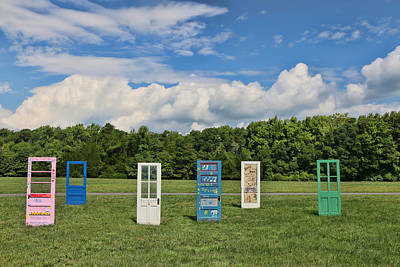 Photograph - The Doors by Allen Beatty