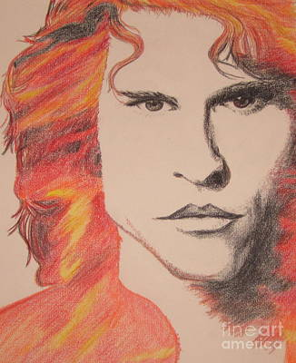 Val Kilmer Wall Art - Drawing - The Doors by Dream In Color