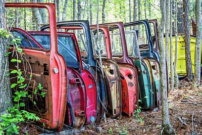 Photograph - The Doors by Menachem Ganon