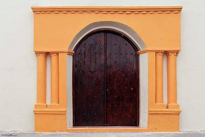 Photograph - The Doors Of Las Flores - 1 by Hany J