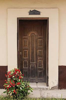 Photograph - The Doors Of Las Flores - 2 by Hany J