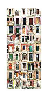 The Doors Of Murano Italy Art Print